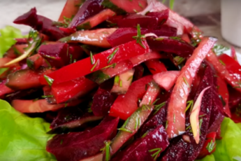 Необычно вкусный и питательный салат «Загадка» станет изюминкой на вашем столе!
