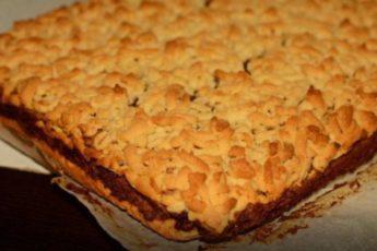 «Тертый пирог с джемом»