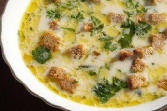 Сырные супчики на обед: ароматные, яркие, аппетитные!