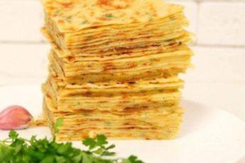 Хычины: обалденные лепешки на кефире с сыром и картошкой.